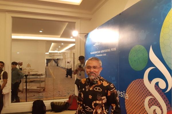 Ketua Komite Festival Film Indonesia 2018-2020, Lukman Sardi di The Tribrata, Jakarta Selatan pada Senin (23/9 - 2019)