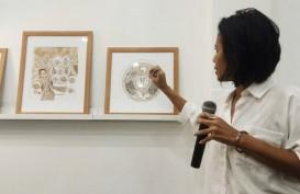 Pameran Lukisan 'Perempuan Dalam Kopi' Ungkap Perjuangan