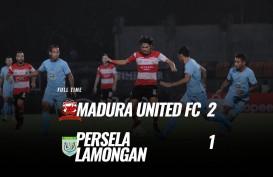 Madura United Tekuk Persela 21, Kokoh di Peringkat 3. Ini Videonya