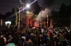 Palmerah Mencekam, 3 Motor dan Pos Polisi Dibakar