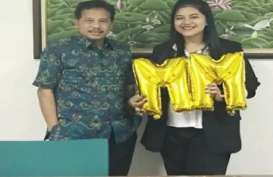 Kahiyang Ayu Jokowi Lulus S2 dari IPB dengan IPK 3,90