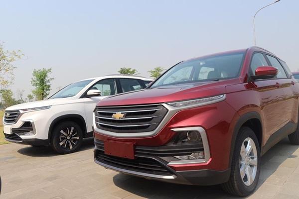 Chevrolet Captiva yang diekspor ke Thailand, Brunei Darussalam, dan Fiji. - Bisnis/Thomas Mola