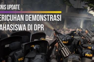 Kericuhan Demonstrasi Mahasiswa di DPR
