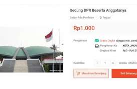 PERISAKAN : Ups! Gedung DPR dan Anggotanya Dijual Murah di Toko Online