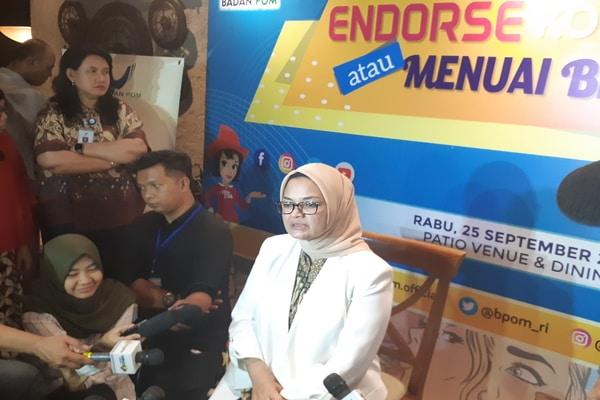 Kepala Badan Pengawas Obat dan Makanan, Penny K. Lukito - Bisnis.com - Ria Theresia Situmorang