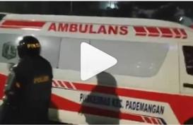 Soal Ambulans Bawa Batu, Dinkes DKI Minta Polisi Rehabilitasi Nama Baik