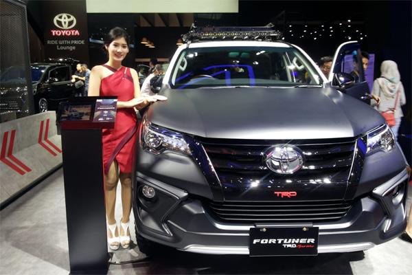 Toyota Fortuner. - Bisnis/Yudi Supriyanto