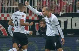 Hasil Bundesliga, Frankfurt Bawa Pulang 3 Poin dari Berlin
