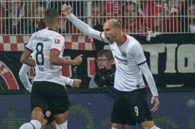 Hasil Bundesliga, Frankfurt Bawa Pulang 3 Poin dari…