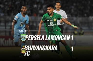 Persela vs Bhayangkara FC 1-1, Alex Dos Santos Eksekusi Penalti. Live Sekarang