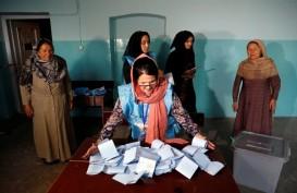 Dibayangi Isu Taliban, Pemilu Afghanistan Hanya Diikuti 2 Juta Pemilih