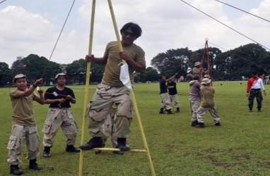 Calon Karyawan PTPN Ikut Latihan Bela Negara