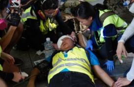 Jurnalis Indonesia Tertembak Peluru Karet di Hong Kong Dalam Kondisi Stabil