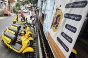 Krida Jaringan Nusantara Gunakan Armada Sepeda Listrik