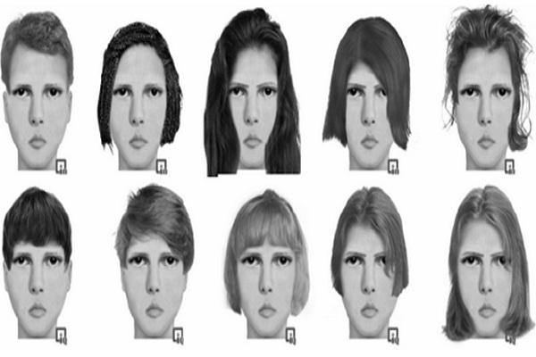 Aneka bentuk wajah terkait status kekayaan. - Istimewa