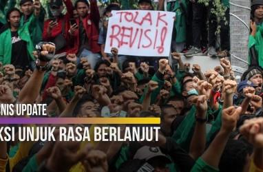 Mahasiswa dan Masyarakat Kembali Demonstrasi