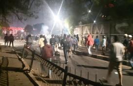 Mahasiswa : Demonstrasi Rusuh Karena Polisi Diserang
