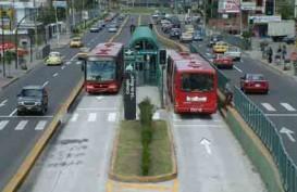 Kembangkan BRT, Menhub Hibahkan 10 Bus ke Pemkot Palembang