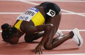 Hasil Kejuaraan Dunia Atletik, Halimah Nakaayi Juara Lari 800 Meter Putri