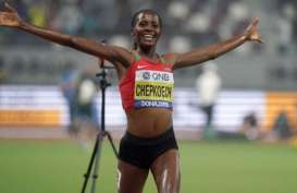 Hasil Kejuaraan Dunia Atletik, Chepkoech Dominasi 3.000 Meter Halang Rintang