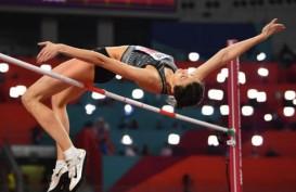 Tanpa Nama Rusia, Mariya Lasitskene Kembali Juara Dunia Lompat Tinggi