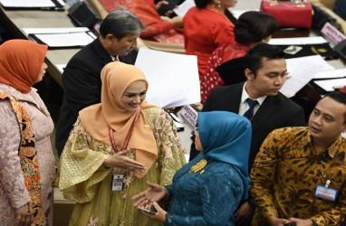 Begini Penampilan Mulan Jameela Saat Dilantik Jadi Anggota DPR