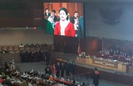 Ingatkan Pentingnya Gotong Royong, Puan Resmi jabat Ketua DPR Didampingi 4 Wakil
