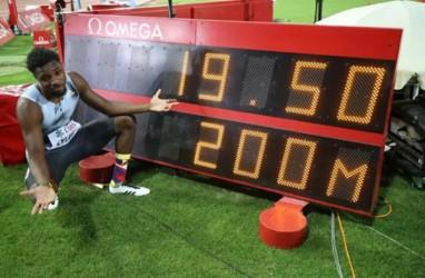 Noah Lyles Juara Dunia Lari 200 Meter Putra