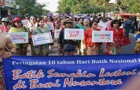 Jokowi Hadiri Puncak Peringatan Hari Batik Nasional 2019 di Boyolali