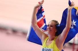 Kelsey-Lee Barber Juara Dunia Lempar Lembing