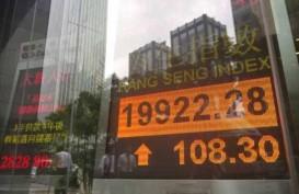 Demonstran Bentrok, Bursa Hong Kong Alami Awal Bulan Terburuk