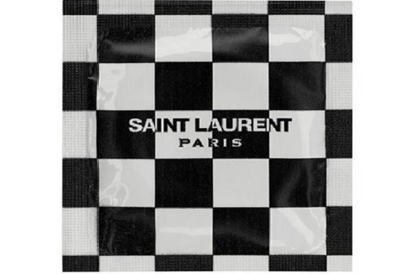Kondom produksi Saint Laurent - Istimewa