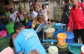 PMI Banjarmasin Bantu Salurkan Air Bersih