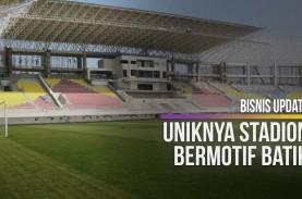 Bermotif Batik, Begini Tampilan Baru Stadion Manahan