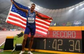 Donavar Brazier Juara Dunia Lari 800 Meter Putra