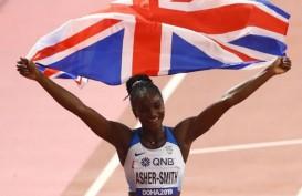Dina Asher-Smith Terbaik Nomor Lari 200 Meter Putri di Kejuaraan Dunia