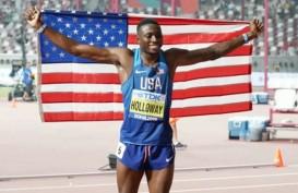 Grant Holloway Juara Dunia Lari Halang Rintang 110 Meter