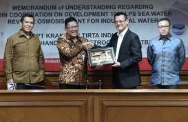 Bakal Akuisisi Krakatau Tirta Industri, PTPP Siapkan Rp800 Miliar