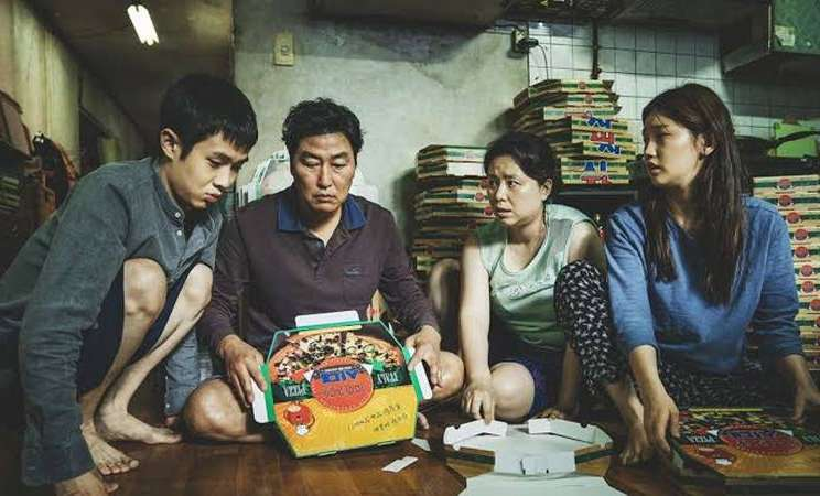 Cuplikan adegan dalam film Parasite. - Dok. CJ E&M Entertainment