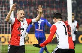 Hasil Liga Europa, Feyenoord Memimpin Klasemen Grup G yang Sangat Ketat