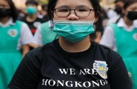 Demo Hong Kong, Larangan Memakai Masker Mulai Berlaku Tengah Malam