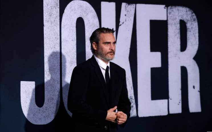 "Joaquin Phoenix menghadiri premiere film ""Joker"" di Los Angeles, AS. Sumber: Reuters"