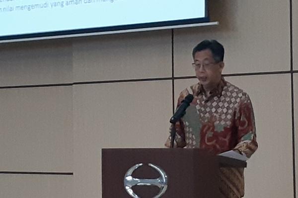 Direktur Penjualan dan Promosi PT Hino Motors Sales Indonesia (HMSI) Santiko Wardoyo - Bisnis/Ilman S Sudarwan