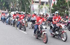 Ribuan Bikers Ikuti Honda Bikers Day Sumatra di Pekanbaru