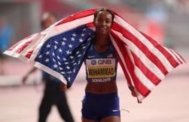 Dalilah Muhammad Bikin Rekor Baru & Juara Dunia Lari Gawang 400 Meter