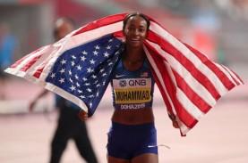 Dalilah Muhammad Bikin Rekor Baru & Juara Dunia Lari…