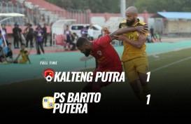 Kalteng Putra vs Barito Putera 1-1, Sama-Sama Tertahan di Zona Degradasi. Ini Videonya