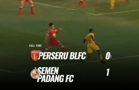 Semen Padang Tekuk Badak Lampung 1-0, tapi masih Juru Kunci. Ini Videonya