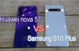 Huawei nova 5T Rp7 Jutaan vs Samsung Galaxy S10 Plus