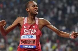 Mutaz Barshim Pertahankan Gelar Juara Dunia Lompat Tinggi
